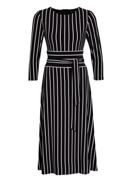 LAUREN RALPH LAUREN Kleid KRISTIE, Farbe: SCHWARZ/ WEISS (Bild 1)