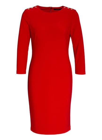 LAUREN RALPH LAUREN Kleid ROMEE mit 3/4-Arm, Farbe: ROT (Bild 1)