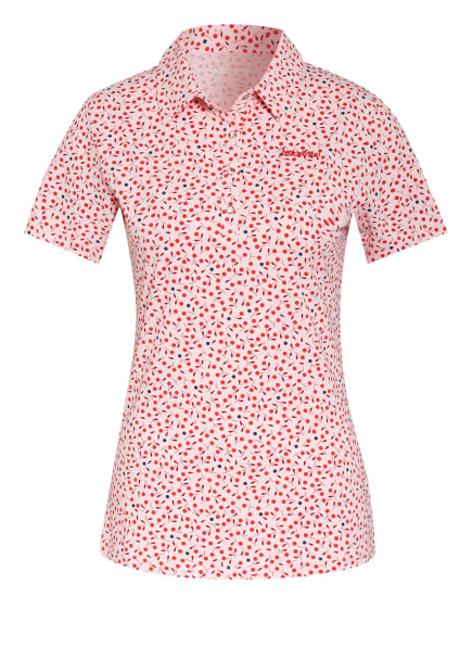 Schöffel Funktions-Poloshirt LINDWOOD, Farbe: LACHS/ SCHWARZ/ ROT (Bild 1)