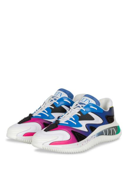 VALENTINO GARAVANI Sneaker, Farbe: WEISS/ BLAU/ PINK (Bild 1)