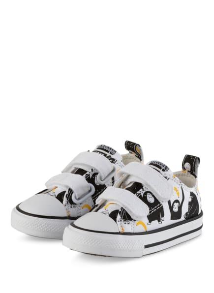 CONVERSE Sneaker CHUCK TAYLOR ALL STAR, Farbe: WEISS/ SCHWARZ/ GELB (Bild 1)