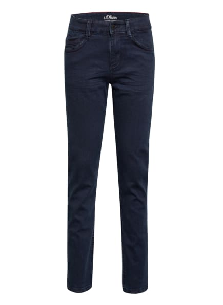 s.Oliver RED Jeans Regular Fit, Farbe: DUNKELBLAU (Bild 1)