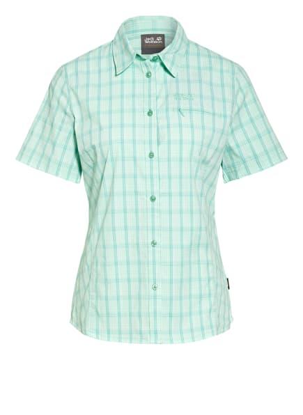 Jack Wolfskin Outdoor-Bluse CENTAURA, Farbe: HELLGRÜN/ WEISS/ GRÜN (Bild 1)