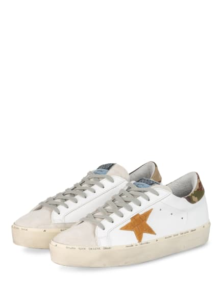 GOLDEN GOOSE Sneaker HI STAR, Farbe: WEISS/ HELLGRAU (Bild 1)