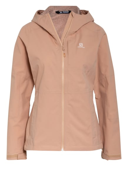 SALOMON Outdoor-Jacke OUTRACK WATERPROOF, Farbe: NUDE (Bild 1)