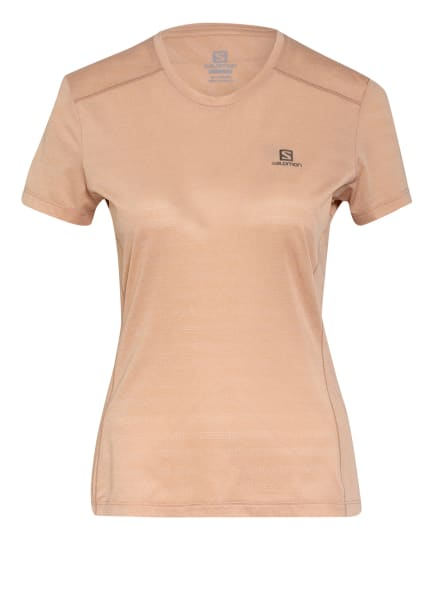 SALOMON T-Shirt XA, Farbe: HELLBRAUN (Bild 1)