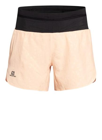 SALOMON Outdoor-Shorts XA, Farbe: SCHWARZ/ LACHS (Bild 1)