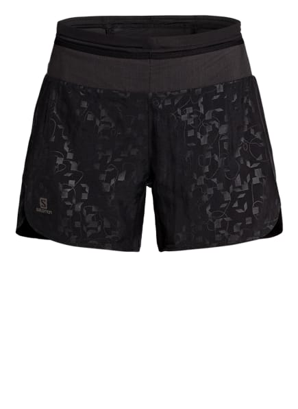 SALOMON Outdoor-Shorts XA, Farbe: SCHWARZ/ GRAU (Bild 1)