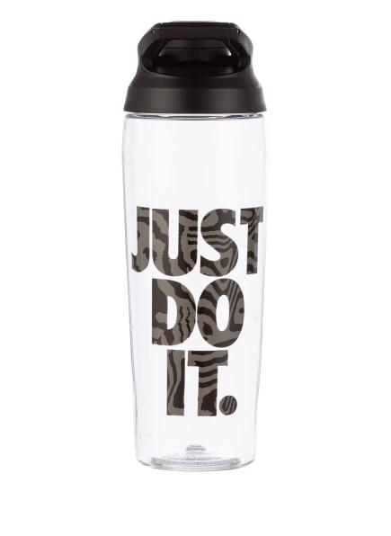 Nike Trinkflasche HYPERCHARGE, Farbe: SCHWARZ/ WEISS/ DUNKELGRAU (Bild 1)