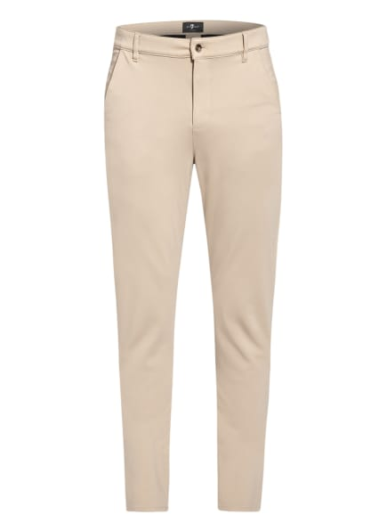 7 for all mankind Chino Regular Fit, Farbe: BEIGE (Bild 1)