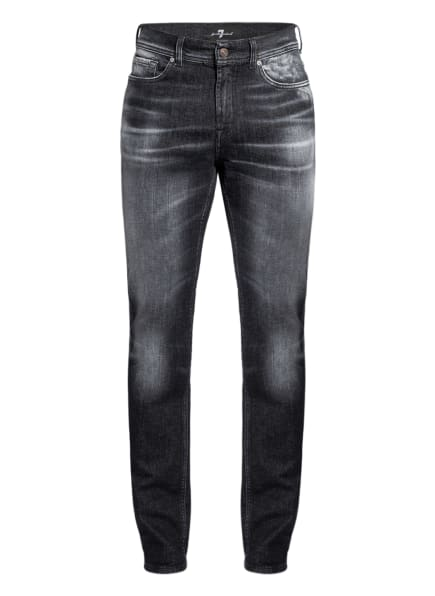 7 for all mankind Jeans RONNIE Skinny Fit , Farbe: BLACK (Bild 1)