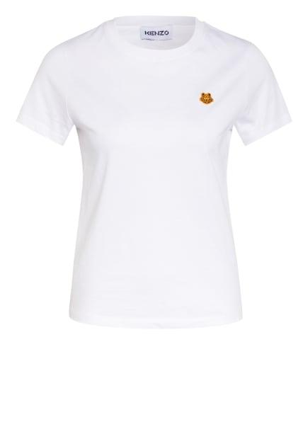 KENZO T-Shirt TIGER CREST, Farbe: WEISS (Bild 1)
