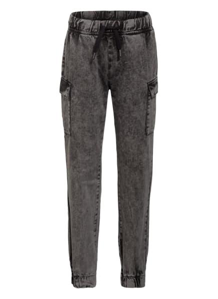 GUESS Cargohose aus Jeans, Farbe: SCHWARZ (Bild 1)