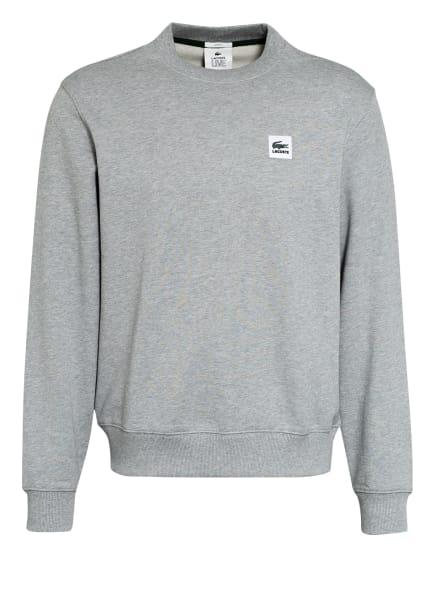 LACOSTE L!VE Sweatshirt, Farbe: HELLGRAU (Bild 1)