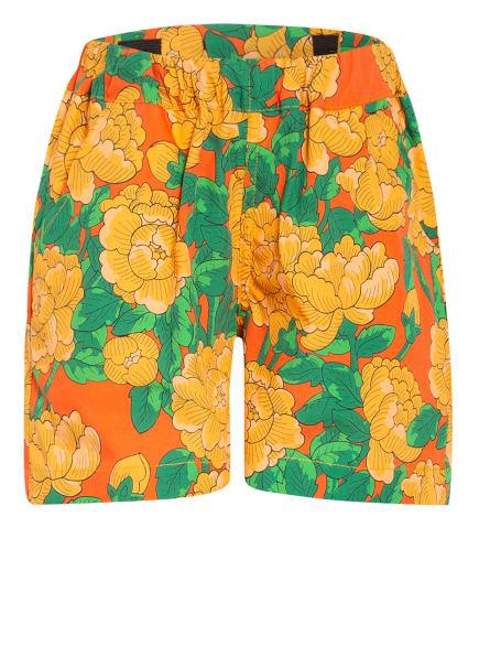mini rodini Shorts, Farbe: DUNKELORANGE/ ORANGE/ GRÜN (Bild 1)