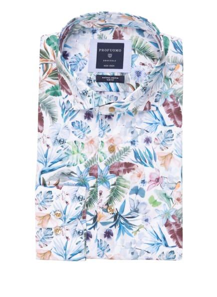 PROFUOMO Hemd Slim Fit, Farbe: WEISS/ BLAU/ GRÜN (Bild 1)