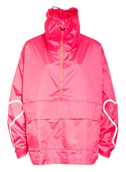 adidas by Stella McCartney Oversized-Windbreaker, Farbe: NEONPINK/ WEISS (Bild 1)