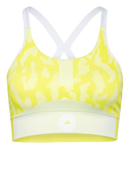 adidas by Stella McCartney Sport-BH TRUEPURPOSE SEAMLESS, Farbe: NEONGELB/ HELLGELB (Bild 1)