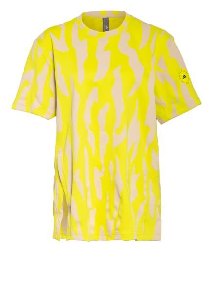 adidas by Stella McCartney T-Shirt FUTURE PLAYGROUND, Farbe: NEONGELB/ BEIGE (Bild 1)