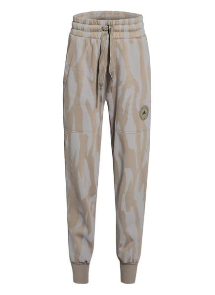 adidas by Stella McCartney Sweatpants SPORTSWEAR COLLEGE, Farbe: KHAKI/ HELLGRAU (Bild 1)