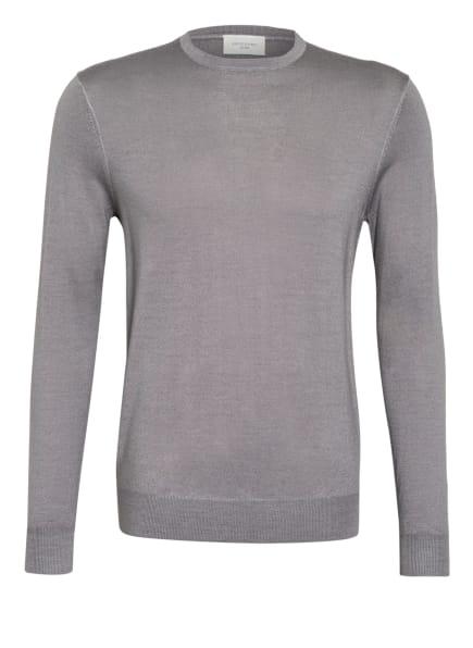 PROFUOMO Pullover aus Merinowolle, Farbe: GRAU (Bild 1)