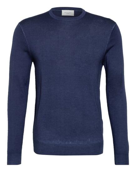 PROFUOMO Pullover aus Merinowolle , Farbe: BLAU (Bild 1)