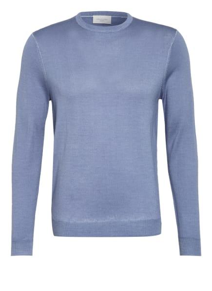 PROFUOMO Pullover aus Merinowolle, Farbe: BLAUGRAU (Bild 1)