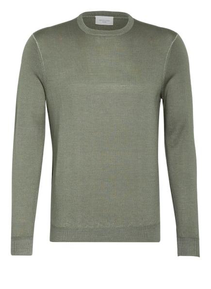 PROFUOMO Pullover aus Merinowolle, Farbe: HELLGRÜN (Bild 1)