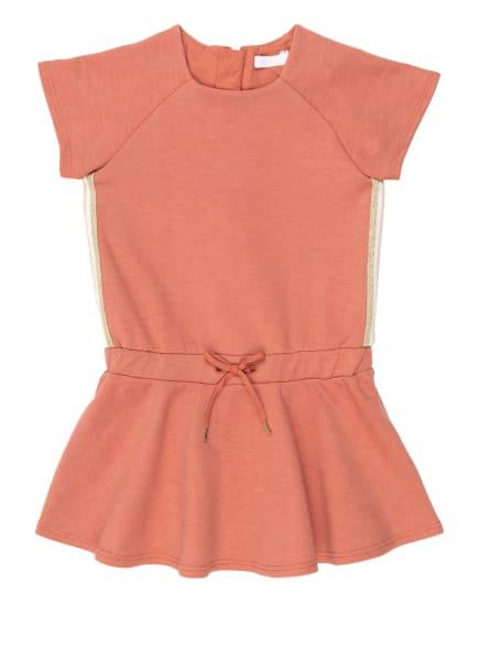 Chloé Kleid mit Galonstreifen, Farbe: ROSÉ (Bild 1)