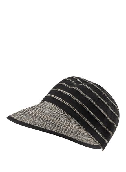 LOEVENICH Cap, Farbe: SCHWARZ/ CREME (Bild 1)