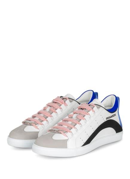 DSQUARED2 Sneaker , Farbe: WEISS/ DUNKELBLAU/ SCHWARZ (Bild 1)