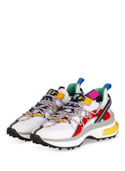 DSQUARED2 Sneaker, Farbe: WEISS/ ROT/ GELB (Bild 1)