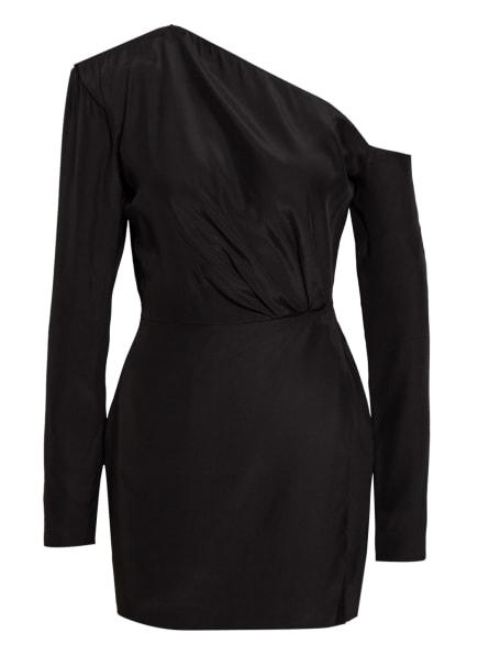 GAUGE81 One-Shoulder-Kleid MASUDA aus Seide , Farbe: SCHWARZ (Bild 1)