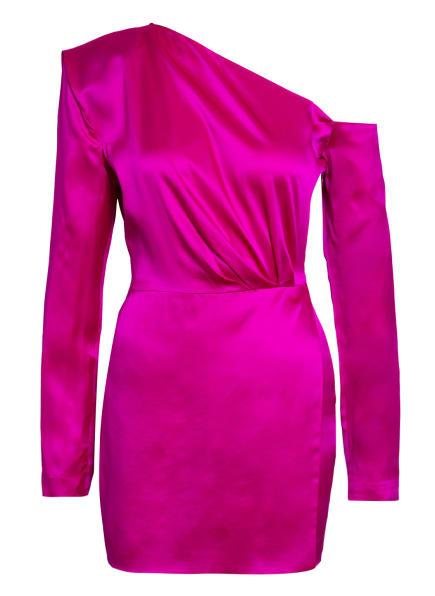 GAUGE81 One-Shoulder-Kleid MASUDA aus Seide , Farbe: PINK (Bild 1)