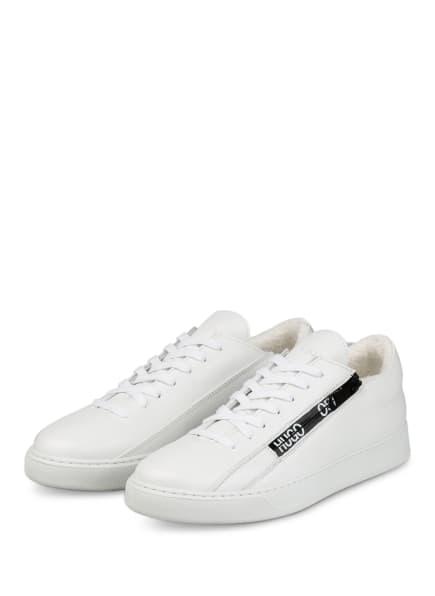 HUGO Sneaker DEVA, Farbe: WEISS/ SCHWARZ (Bild 1)