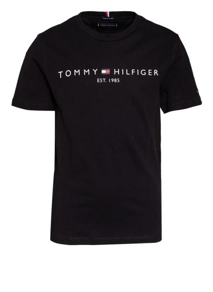TOMMY HILFIGER T-Shirt ESSENTIAL, Farbe: SCHWARZ (Bild 1)