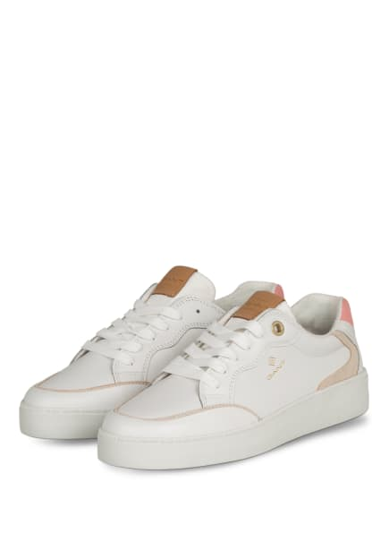 GANT Plateau-Sneaker LAGALILLY, Farbe: WEISS/ ROSA/ NUDE (Bild 1)