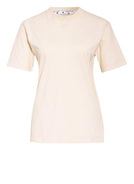 Off-White T-Shirt, Farbe: BEIGE (Bild 1)