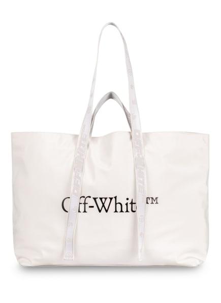 Off-White Shopper, Farbe: WEISS/ SCHWARZ (Bild 1)