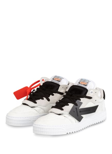 Off-White Sneaker OFFCOURT, Farbe: WEISS/ SCHWARZ (Bild 1)