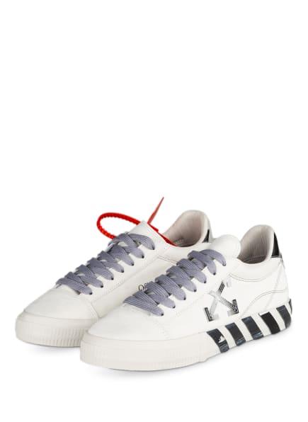 Off-White Sneaker, Farbe: WEISS/ HELLGRAU (Bild 1)