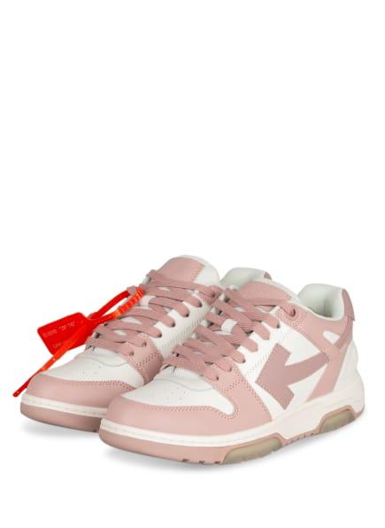 Off-White Sneaker OOO, Farbe: WEISS/ ROSÉ (Bild 1)