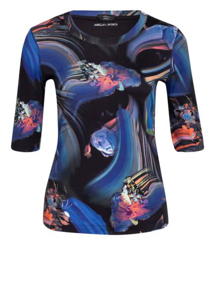 MARC CAIN T-Shirt mit 3/4-Arm, Farbe: 395 MIDNIGHT BLUE (Bild 1)
