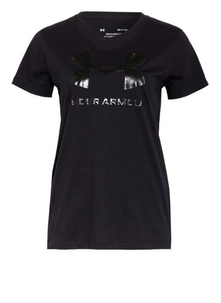 UNDER ARMOUR T-Shirt, Farbe: SCHWARZ (Bild 1)