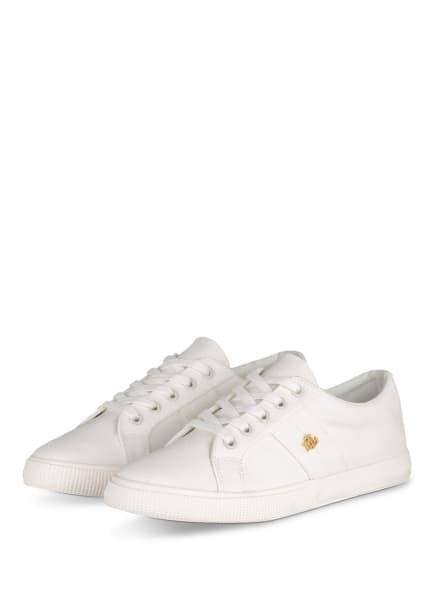 LAUREN RALPH LAUREN Sneaker JANSON, Farbe: WEISS (Bild 1)