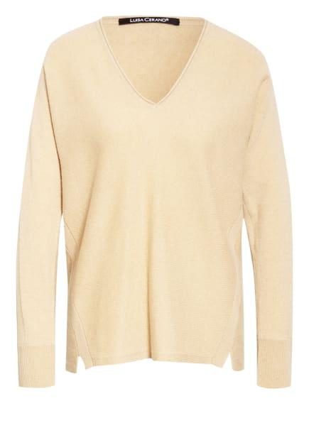 LUISA CERANO Pullover, Farbe: BEIGE (Bild 1)