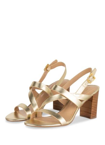 LAUREN RALPH LAUREN Sandaletten MACKENSIE, Farbe: GOLD (Bild 1)