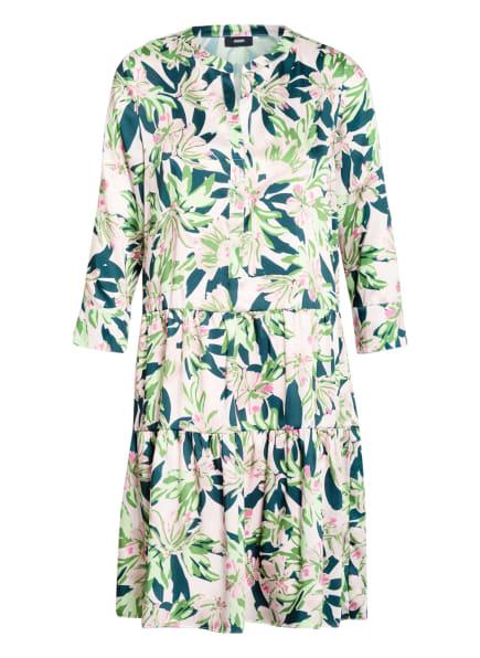 JOOP! Kleid DONJA mit 3/4-Arm, Farbe: HELLROSA/ HELLGRÜN/ DUNKELGRÜN (Bild 1)