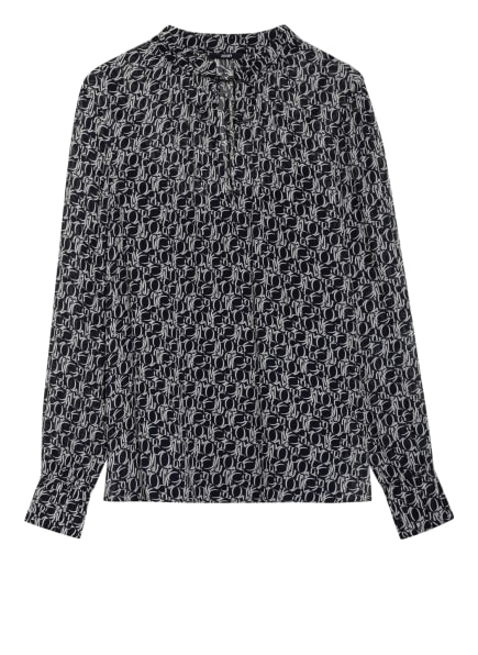 JOOP! Blusenshirt BEYLA, Farbe: DUNKELBLAU/ WEISS (Bild 1)