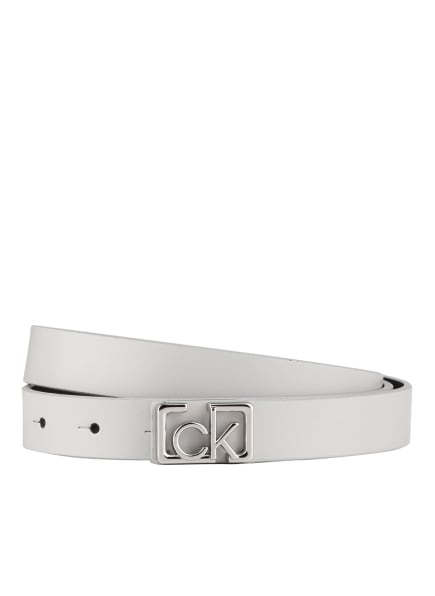 Calvin Klein Ledergürtel, Farbe: HELLGRAU (Bild 1)
